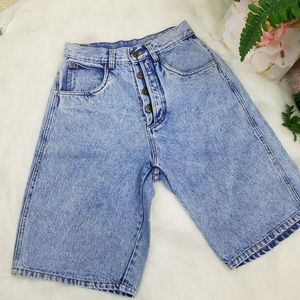 BILL BLASS JEAN SHORT HIGHT WAIST SIZE 8